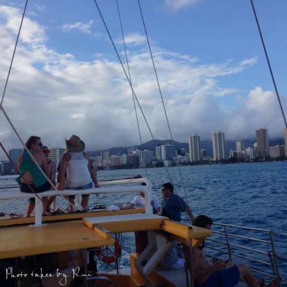 ハワイで体験!】破格のサンセットクルーズ
