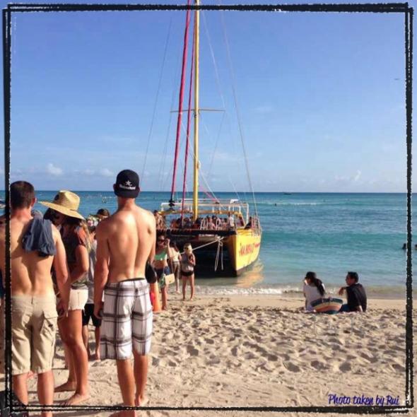 ハワイで体験!】破格のサンセットクルーズ1