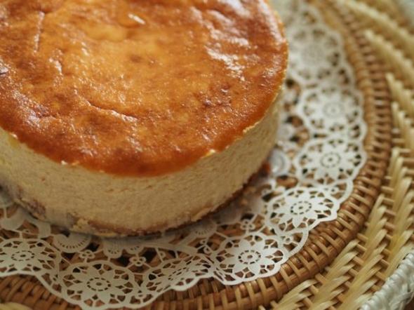 グルテンフリーチーズケーキトップ