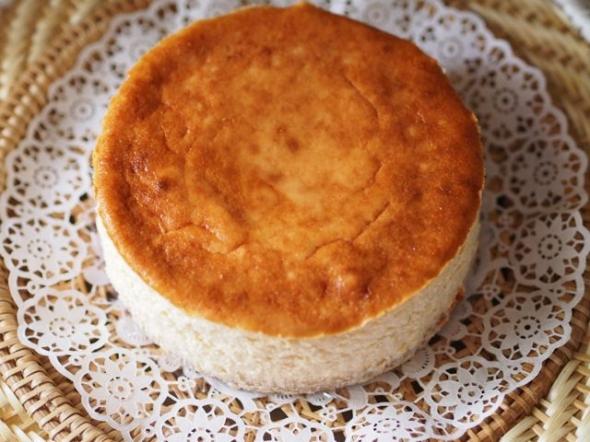 グルテンフリーチーズケーキできあがり