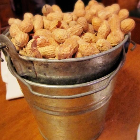 Texas Roadhouse peanuts