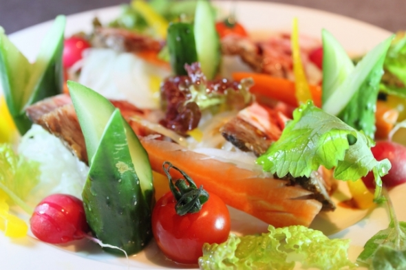 野菜を食べると太る