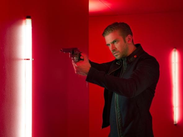 DAN STEVENS stars in the action thriller THE GUEST, opening in September.