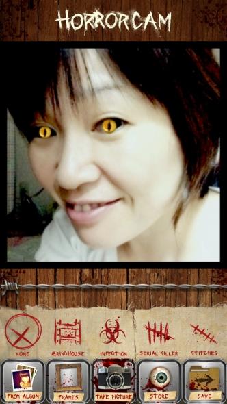 Horror Cam フレーム選択