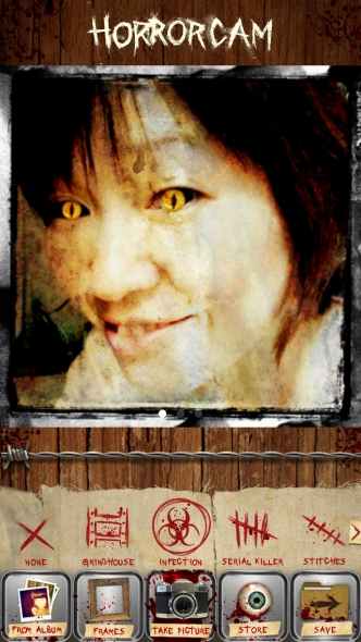 Horror Cam フィルター2
