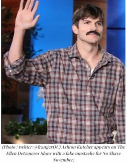 Movember ashton 2013