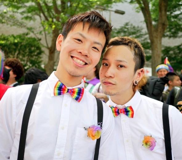 和志と玄太はゲイカップル