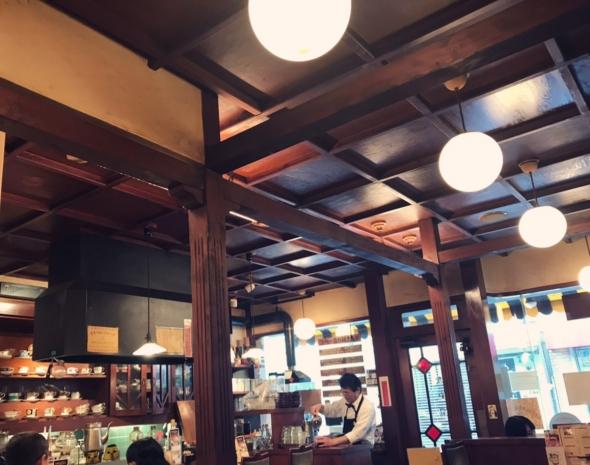 シマノコーヒー大正館 店内